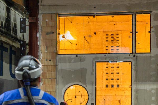 Brandschutzglas Trockenbaufenster